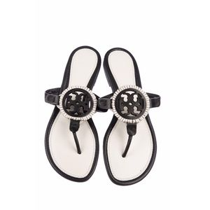 Tory Burch leather thong sandals size 7
